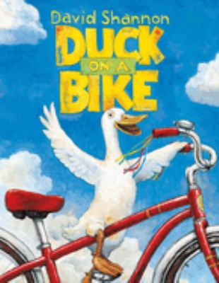 """Duck on a Bike"" book cover"