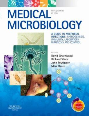 Book cover for Medical microbiology.