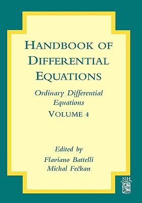 book cover: Handbook of differential equations: Ordinary Differential Equations