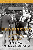 Book cover for Seabiscuit by Laura Hillenbrand