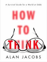 How to Think cover