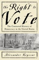 The Right to Vote book cover
