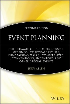 Cover Art for Event Planning by Judy Allen