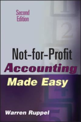 A picture of the front cover of Not-for-Profit Accounting Made Easy, Second Edition.