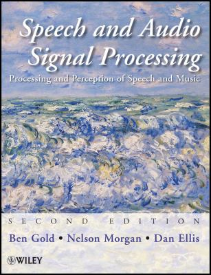 book cover: Speech and Audio Signal Processing
