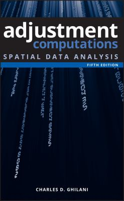 Book Cover : Adjustment Computations : spatial data analysis