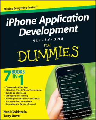 book cover: iPhone Application Development All-in-One for Dummies