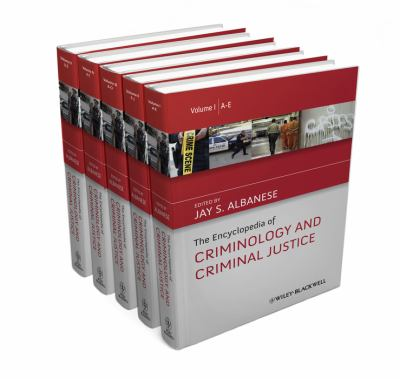 Book jacket for The Encyclopedia of Criminology and Criminal Justice