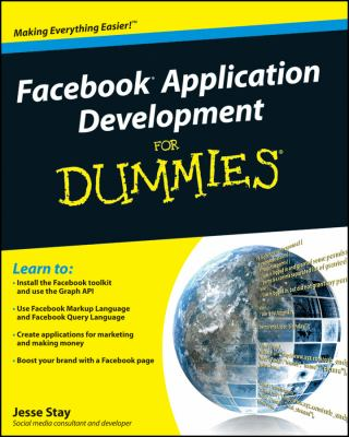 book cover: Facebook Application Development for Dummies