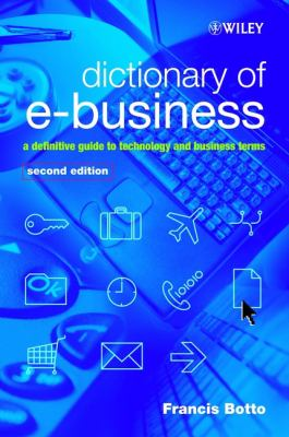 Book jacket for Dictionary of E-Business