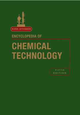 Cover Image: Kirk-Othmer Encyclopedia of Chemical Technology