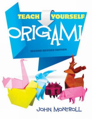 Book cover for Teach yourself origami.