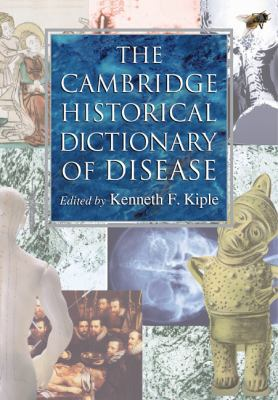 Book jacket for The Cambridge Historical Dictionary of Disease