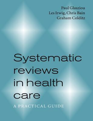 Systematic Reviews in Health Care Cover
