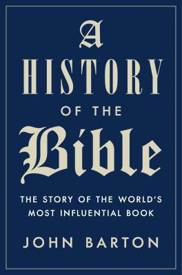 Cover Art for A History of the Bible