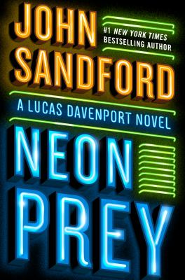 Cover Art for Neon Prey