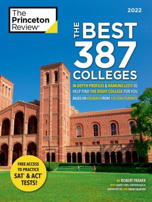 The best 387 colleges / by Franek, Robert,