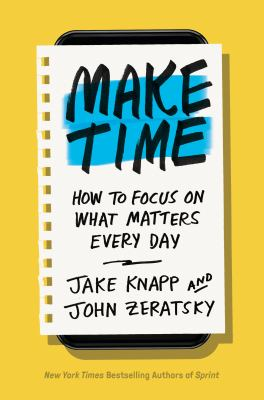 Book cover for Make time.