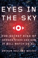 """Eyes In The Sky"" book cover"