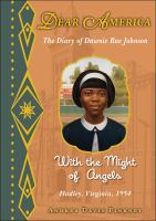 Book cover for With the Might of Angels, a book in the Dear America series