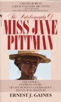Miss Jane Pittman book cover