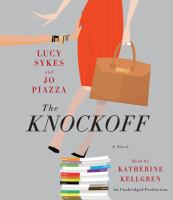 Book cover for The Knockoff by Lucy Sykes