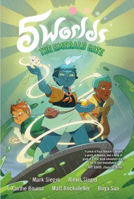 5 worlds, book 5. the emerald gate. by Siegel, Mark.
