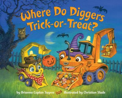 Where do diggers trick-or-treat?