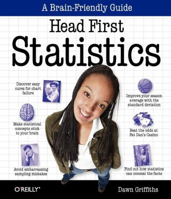Book cover: Head First Statistics