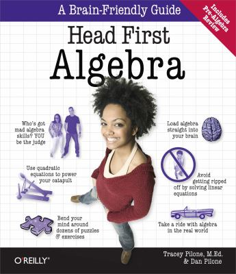 book cover Head First Algebra