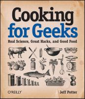 Book cover for Cooking for Geeks