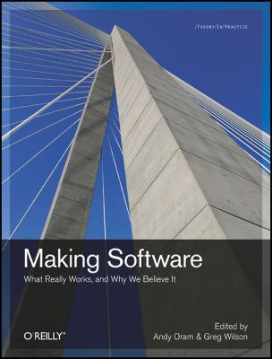 book cover: Making Software