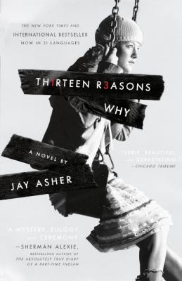 Book cover for Thirteen reasons why.