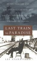 Last Train to Paradise book cover