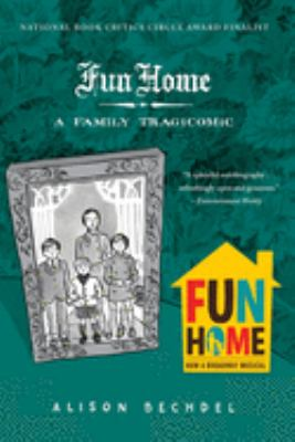 Book cover for Fun home.
