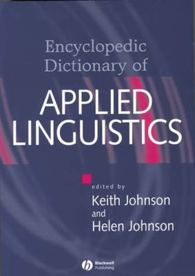 Cover Art for The Encyclopedic Dictionary of Applied Linguistics