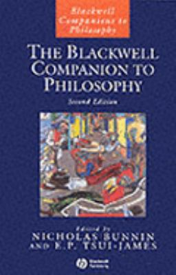 Cover Art for The Blackwell Companion to Philosophy