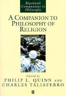 Cover Art for A Companion to the Philosophy of Religion