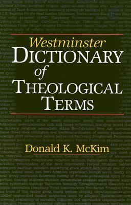 cover of Westminster Dictionary of Theological Terms