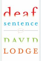 Book cover for Deaf Sentence by David Lodge