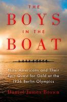 Book cover for Boys in the Boat by Daniel Brown
