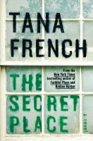 Book cover for The Secret Place by Tana French