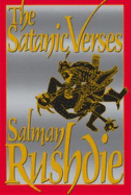 Book cover- The Satanic Verses