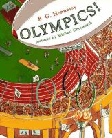 """Olympics!"" book cover"