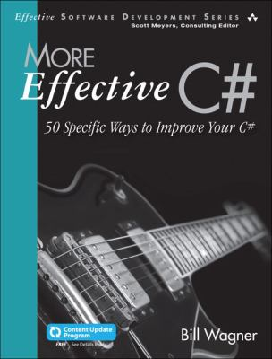 book cover: More Effective C#