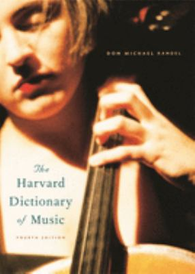 Cover of The Harvard Dictionary of Music