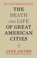 death and life of great aermican cities cover
