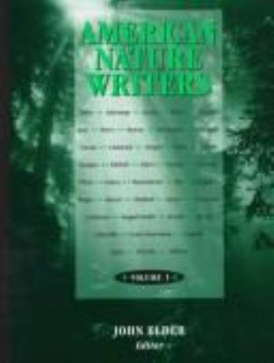 cover of American Nature Writers