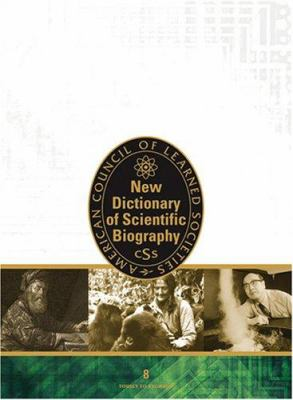 Cover of New Dictionary of Scientific Biography