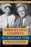 Book cover for No Ordinary Time by Doris Kearns Goodwin